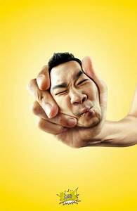 Squeezed Head Ads : Sour Lemon Candy campaign