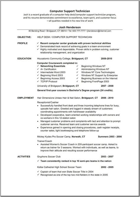 Sle Resumes Templates by Sle Accounting Resume Objective 28 Images Sle Tax
