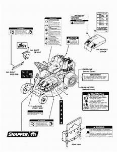 Snapper Mowers Parts Diagram