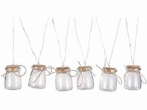 Lichterkette Für Flaschen : lunartec lichterkette draht led silberdraht mit 18 leds in 6 deko gl sern batteriebetrieben ~ Frokenaadalensverden.com Haus und Dekorationen