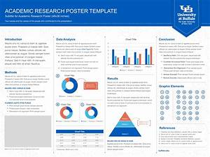 research poster template identity and brand university With how to make a poster template in powerpoint