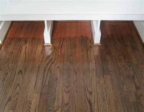 Acanthus and Acorn: The Process Of Refinishing Hardwood Floors: Before and After