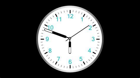 Analog Clock Hand Live Wallpaper