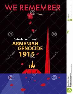 Armenian Genocide Memorial Concept. Editable Clip Art ...