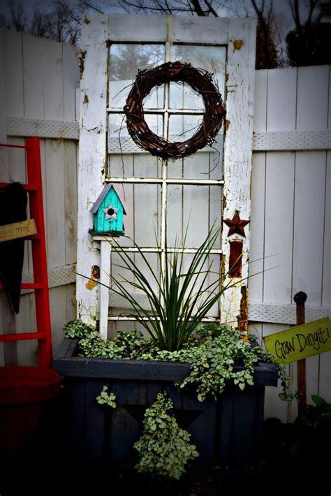 decorate garden  recycling  doors  creative