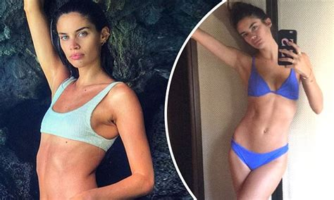 Sara Sampaio slips into bikini as she enjoys friendsgiving ...