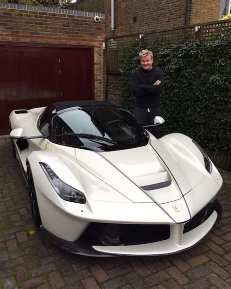 Gordon Ramsay Takes Delivery Of The First Laferrari Aperta