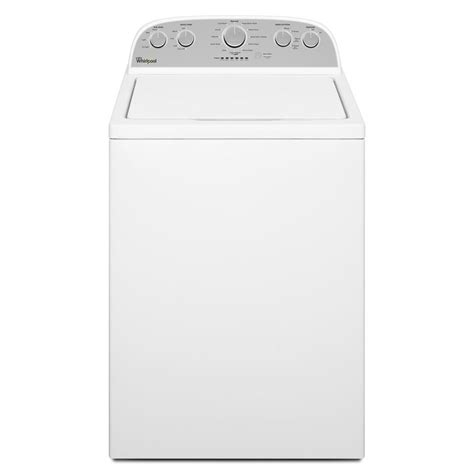 Shop Whirlpool 43cu Ft Highefficiency Topload Washer