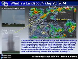 Landspout Tornado On The Southwest Side Of Chicago On