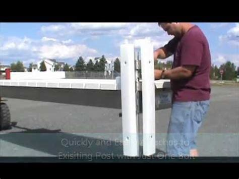 Boat Dock Bumpers Youtube by Universal Vertical Boat Bumpers From V Dock Youtube
