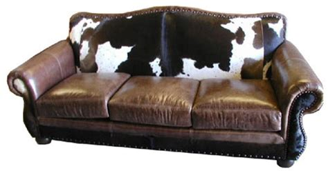 Cowhide Sofa by Rustic Cowhide Sofas Cowhide Couches Better Than Free