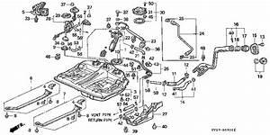 Honda Online Store   1994 Accord Fuel Tank  1  Parts