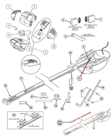 Garage Door Parts by Genie 2024 2022 2042 Garage Door Opener Repair Parts