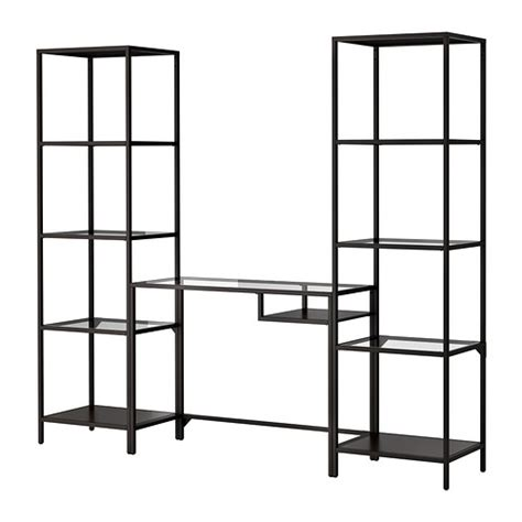 ikea bureau etagere vittsjö shelving unit with laptop table ikea