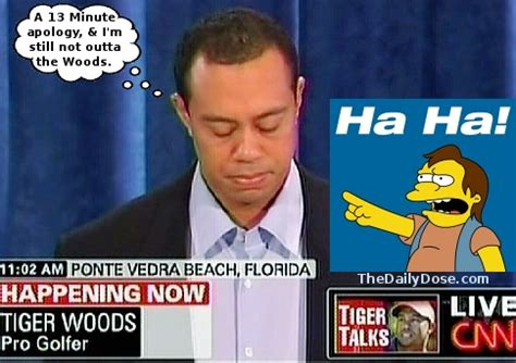 Funny Pictures Of Tiger Woods