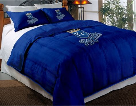 kansas city royals mlb twin chenille embroidered comforter
