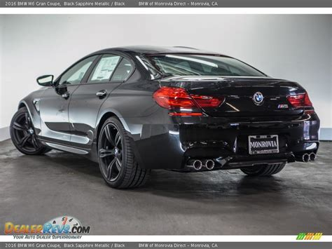 Gambar Mobil Bmw M6 Gran Coupe by 2016 Bmw M6 Gran Coupe Black Sapphire Metallic Black