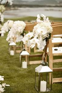 outdoor wedding aisle decor blending beautiful wedding wednesday ceremony aisle decor