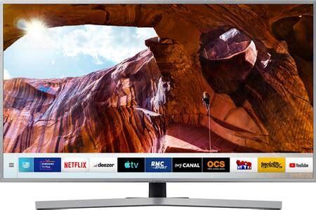 darty televiseur samsung tv led samsung ue55ru7475 138 cm pas cher t 233 l 233 viseur