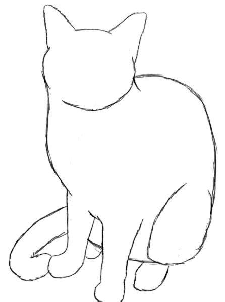 draw  cat art drawings cat drawing art drawings