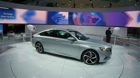 Honda Accord 2018 @la Auto Show 2017
