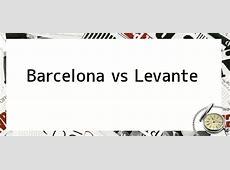 Barcelona vs Levante Barcelona goleó 41 a Levante con