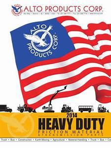 Alto Heavyduty Catalog