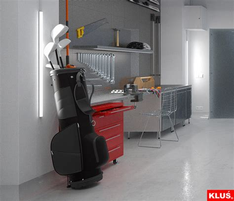 Led Garage Interior Lighting  Modern  Garage And Shed