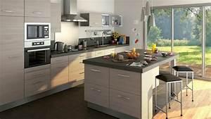 Pinterest Cuisine : meubles de cuisine lapeyre youtube ~ Carolinahurricanesstore.com Idées de Décoration