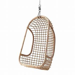 Fauteuil Suspendu Osier : fauteuil suspendu en rotin naturel hk living petite lily interiors ~ Teatrodelosmanantiales.com Idées de Décoration