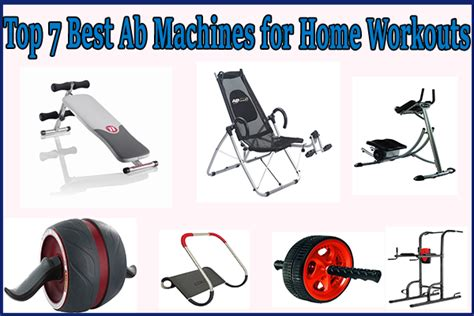 Top 7 Best Ab Machines For Home Workouts [review]