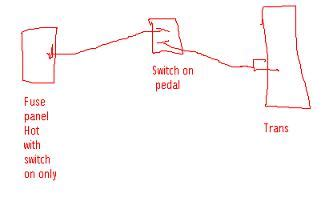 Th400 Kickdown Switch Wiring Diagram by One Wire Switch On My Th400 The 1947 Present