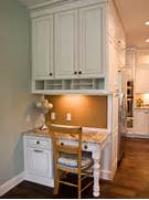 Dealing With Built In Kitchens For Small Spaces Kitchen Desk Areas On Pinterest Kitchen Desks Kitchen Desk