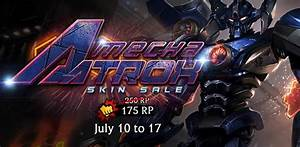 Mecha Aatrox Skin Sale