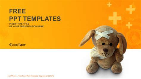 bandaged teddy bear medical  templates