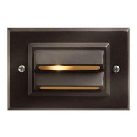 home depot low voltage deck lighting hinkley lighting low voltage 12 watt bronze horizontal