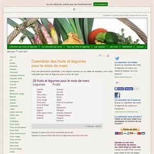 Calendrier Fruits Et Légumes De Saison : fruits et l gumes calendrier pratique des fruits et ~ Nature-et-papiers.com Idées de Décoration