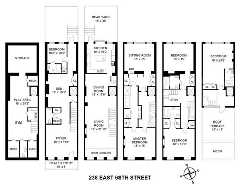 townhouse designs and floor plans 102 best images about townhouse floor plans on pinterest