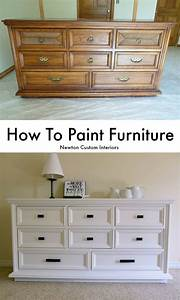 How, To, Paint, Furniture