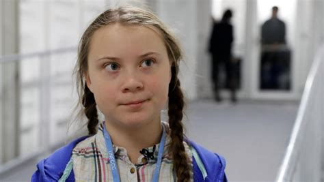 teen  reprimanded world leaders  climate