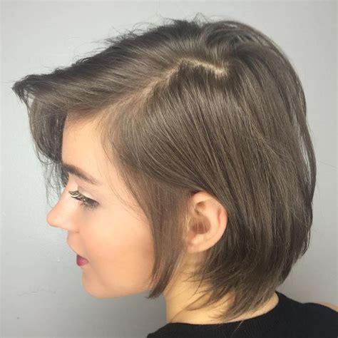ideas  short thin hair  pinterest short
