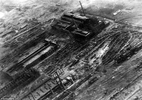 the siege of stalingrad photographs reveal how 39 s bombers decimated