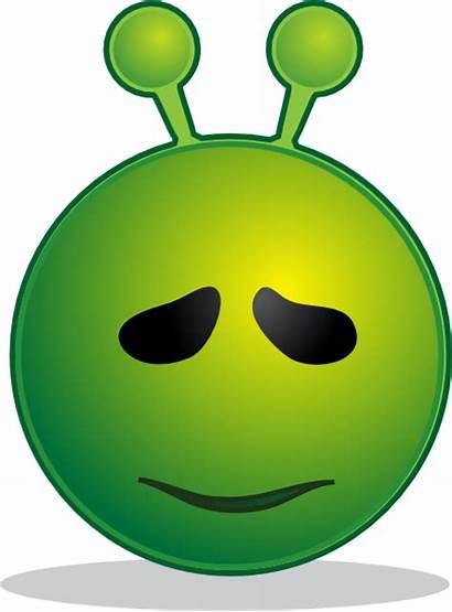 Alien Sorry Clip Smiley Vector Svg Clipart