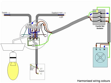 Bathroom Extractor With Timer Humidstat Wiring Page