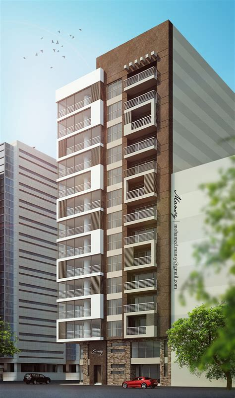 Luxury High Rise Residential Apartment Building On Behance
