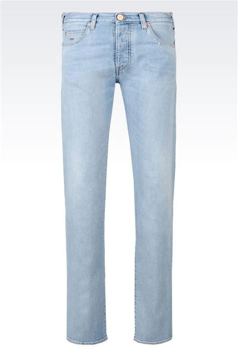 light blue jeans mens slim fit emporio armani slim fit light wash jeans where to buy