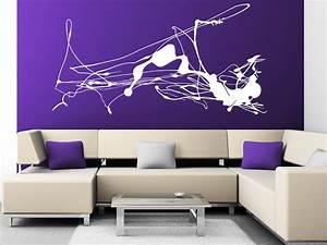 Wandtattoo Wall Art : wandtattoo abstrakte kunst von ~ Sanjose-hotels-ca.com Haus und Dekorationen