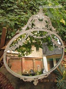Spiegel Antik Oval : chic antique jugendstil spiegel oval antik beige vintage shabby ~ Markanthonyermac.com Haus und Dekorationen