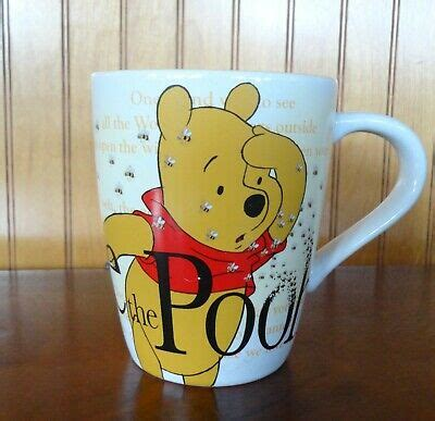 This delightful winnie the pooh mug gift set includes coordinating mug, notebooks, and a pen all beautifully packaged for that perfect. Large Winnie the Pooh Coffee Mug Disney Store It's the Simple Things Honey Bees | eBay