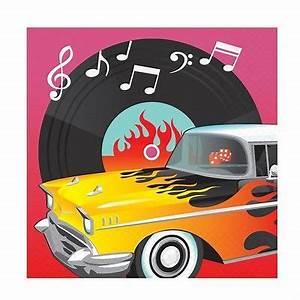 Rock N Roll Deko : classic 50 s rock n roll rockabilly elvis geburtstag 50er jahre deko teller uvm ebay ~ Sanjose-hotels-ca.com Haus und Dekorationen